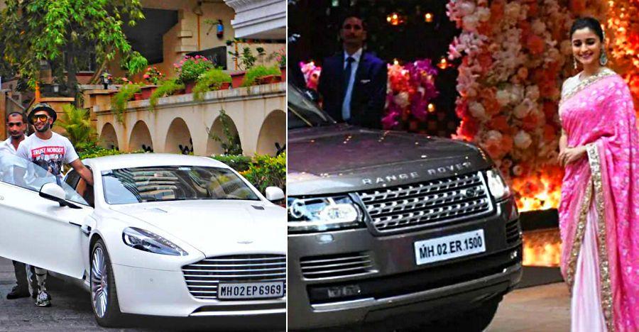 Ranveer Singh's Aston Martin to Alia Bhatt's Range Rover: Luxury cars of Bollywood's 'Young' Stars
