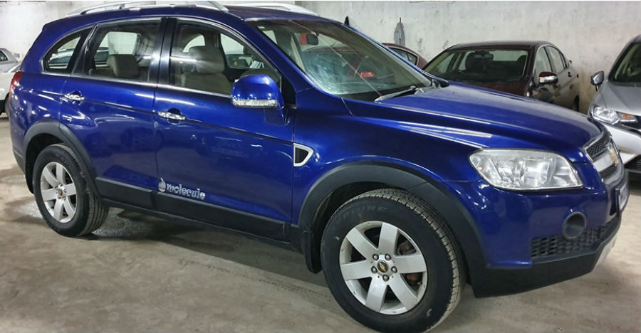 Well maintained used Chevrolet Captiva SUV selling cheaper than a Maruti WagonR