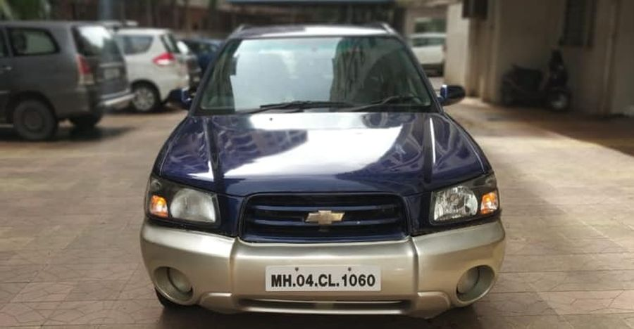 Super RARE used Chevrolet Forester SUV selling cheaper than a new Yamaha R15