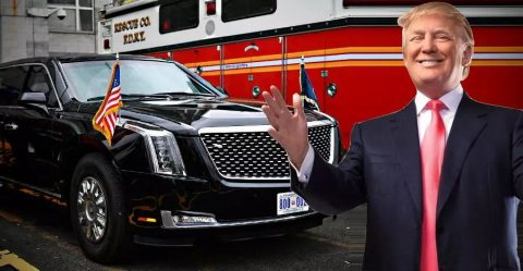 Donald Trump Cadillac One Featured