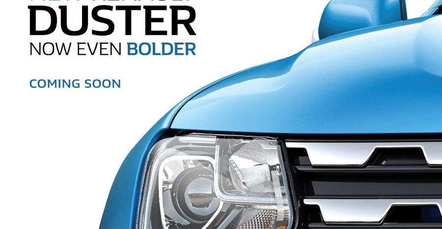 Duster Facelift Teaser Featured