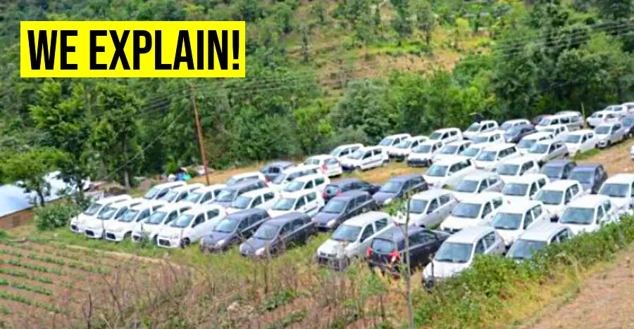 Cars growing in farms: Only in Himachal