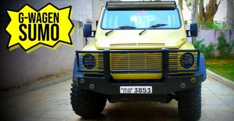 G Wagen Sumo Featured