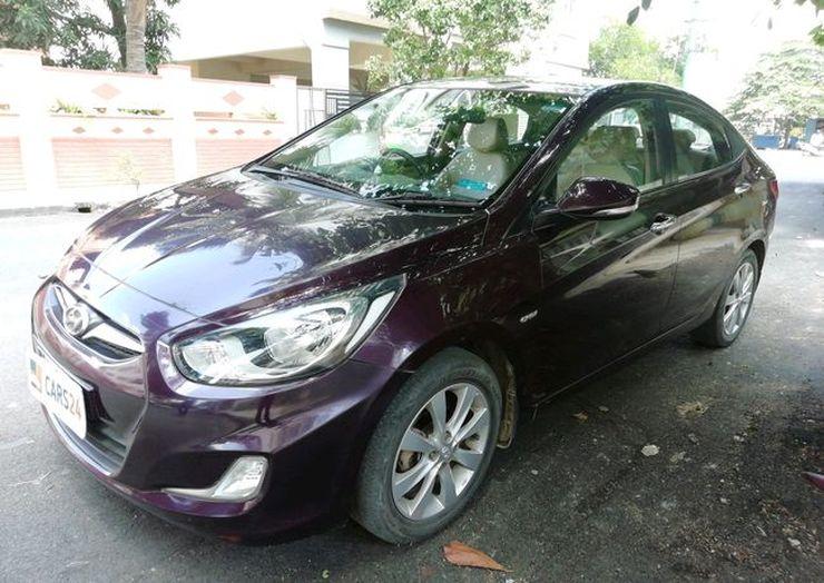 Hyundai Verna Used 9