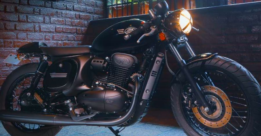 Jawa 42 Cafe Racer Featured