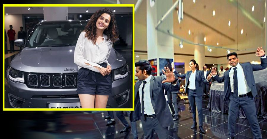 Jeep Compass Taapsee Pannu Featured
