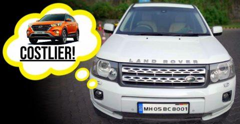 Land Rover Cheaper Than Creta Featured