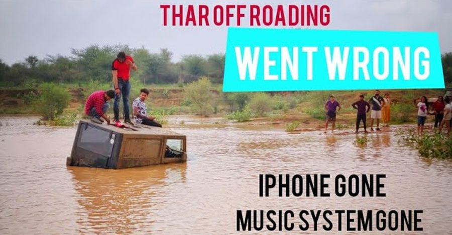 Mahindra Thar Off Roading Stuck Featured