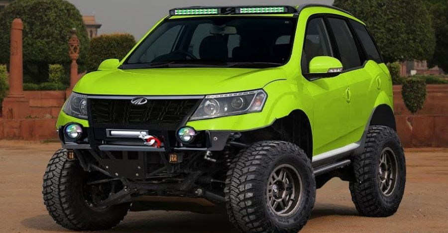 Mahindra Xuv500 Off Roader Render