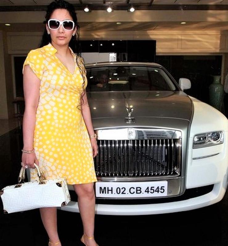 Manyata Dutta Rolls Royce Ghost