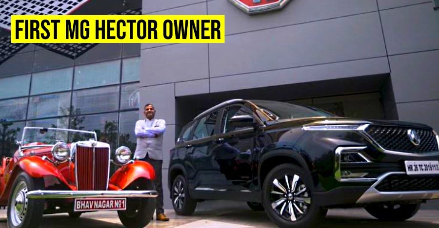 Mg Hector First Owner Featured