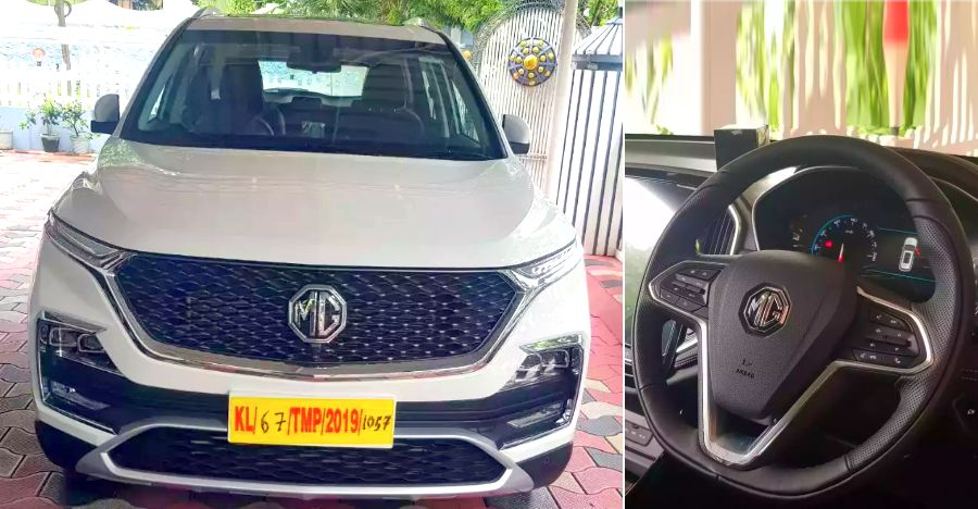 This is India's first used MG Hector SUV: Driven only 100 Kms
