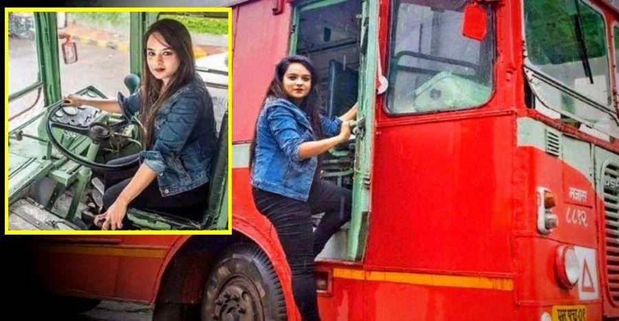 Mumbai Lady Bus Driver Featured