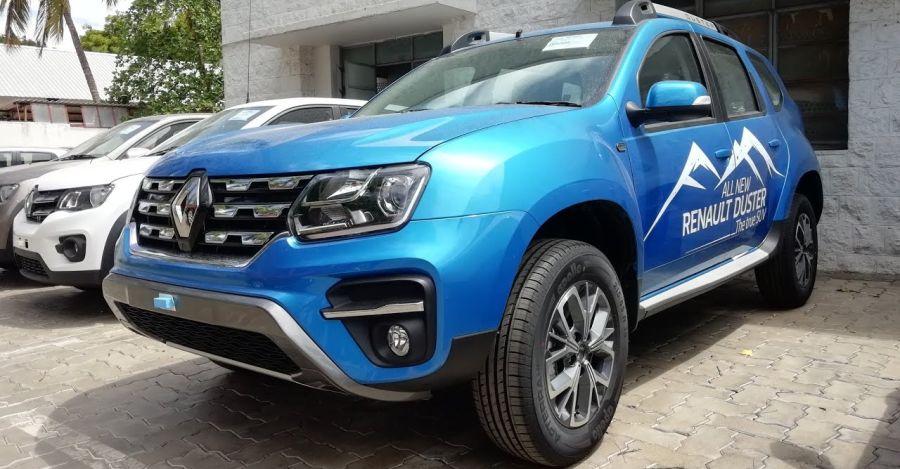 Renault Duster Facelift Rxz Featured