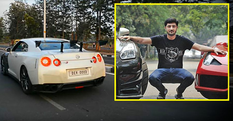Sarvesh Sandhu With His Nissan Gt R Supercar Featured