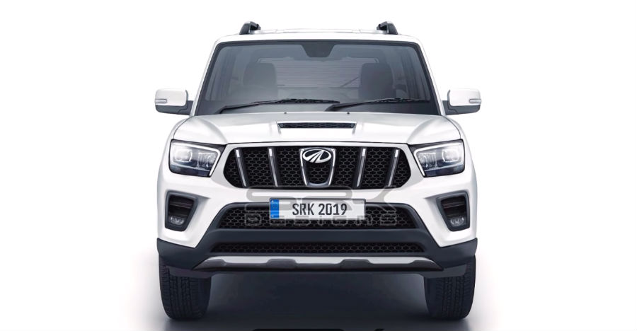 2020 Mahindra Scorpio: Renders show multiple angles of the upcoming SUV