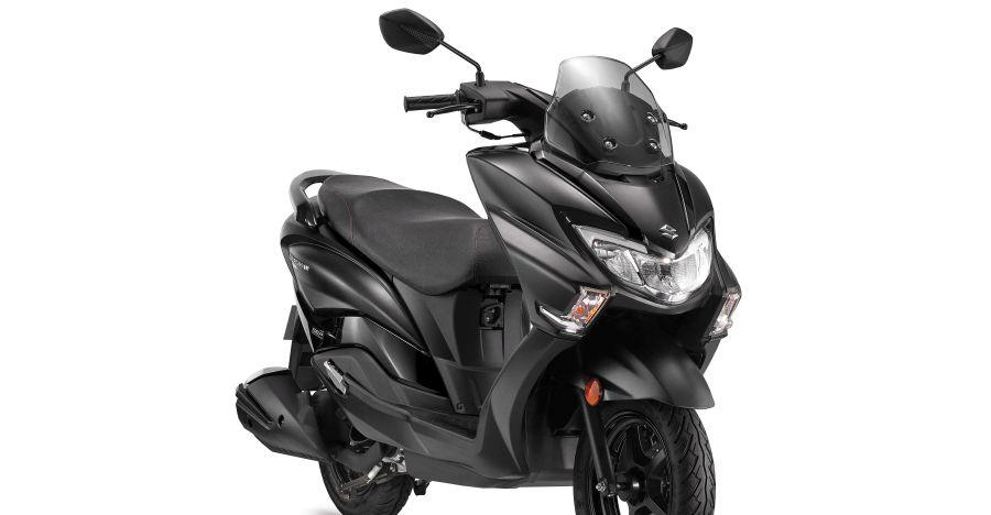 Suzuki Burgman 125 Matte Black Featured