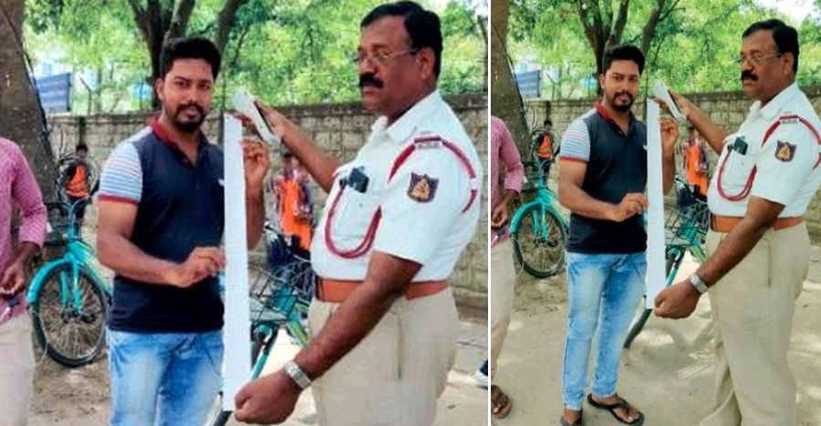 Food delivery boy with 53 traffic offences finally BUSTED!