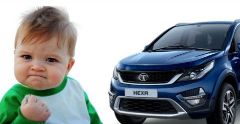 Tata Hexa Comeback Featured