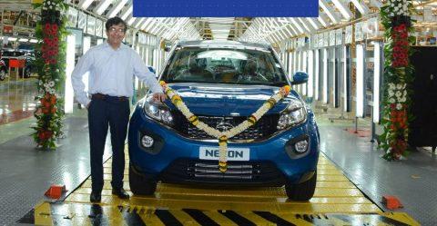 Tata Nexon 100,000 Production Featured