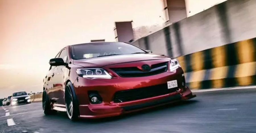 Toyota Corolla Modified Used Featured