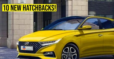 Upcoming Hatchbacks Featured