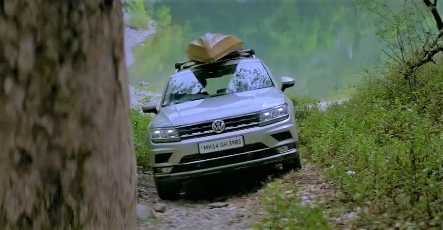 Volkswagen's latest TVC shows the Tiguan SUV in full glory