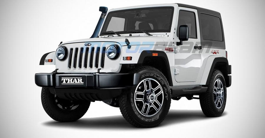 Upcoming 2020 Mahindra Thar: New render shows what it could look like