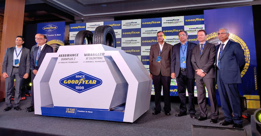 Goodyear launches two new tyres for Indian market