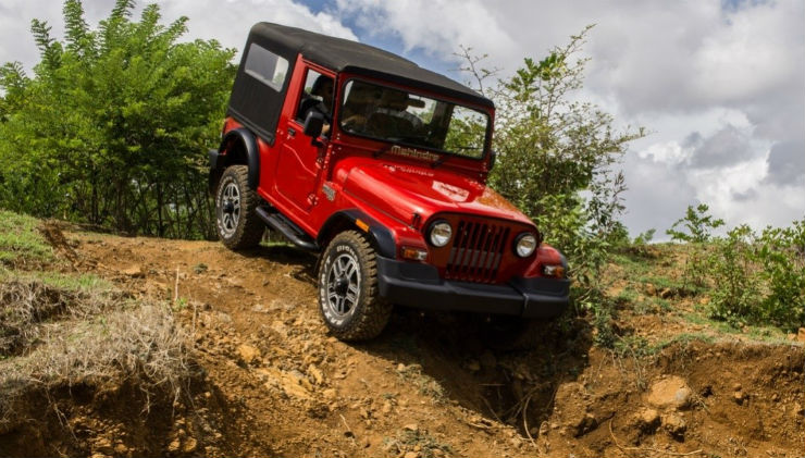 Mahindra Thar Off Road