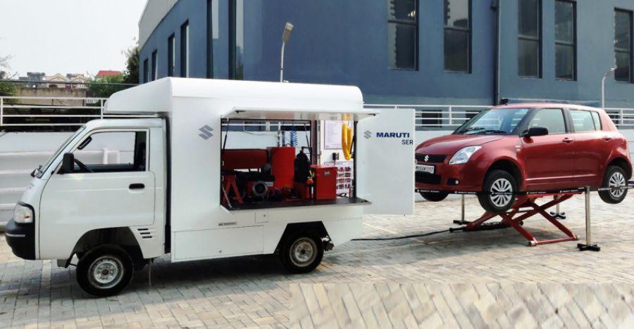 Car service comes home as Maruti Suzuki launches revamped doorstep service initiative