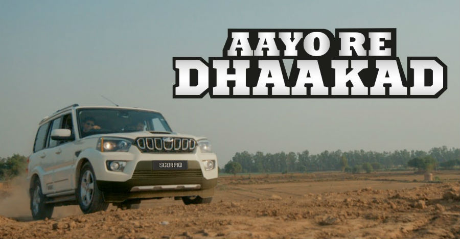 Mahindra Scorpio SUV's new TVC shows it in a tug-of-war with two tractors