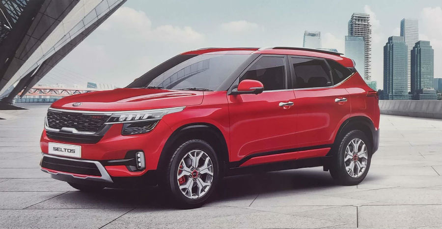Kia Seltos compact SUV's official brochure leaked before launch