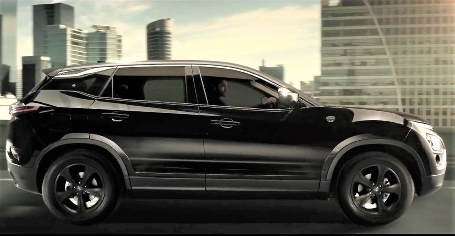 Checkout the latest Tata Harrier Dark edition TVC