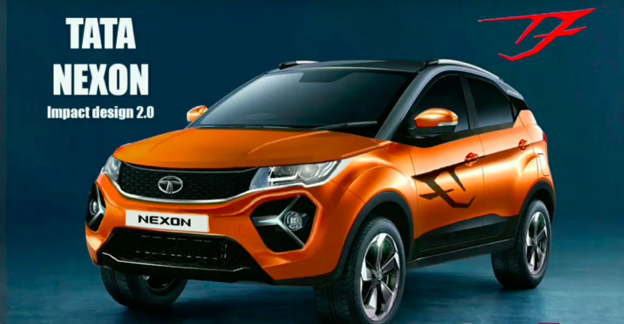 Tata Nexon Facelift caught testing for the first time ahead of 2020 launch