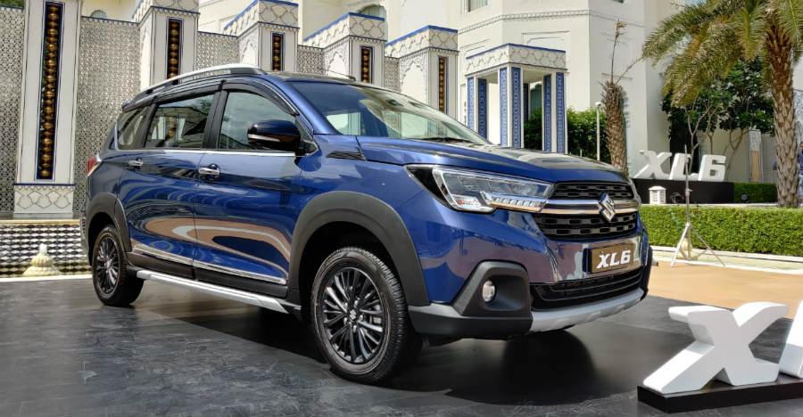 Maruti Suzuki XL6 with chrome accessory package [Video]