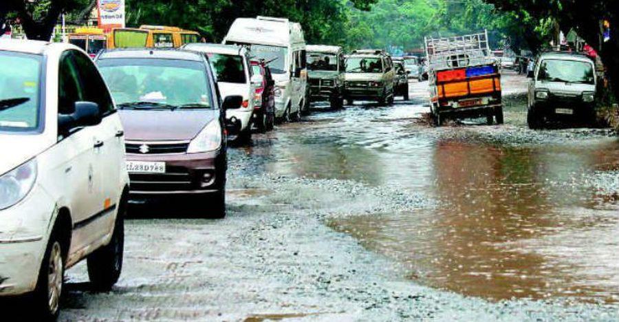 Bangalore Potholes Featured