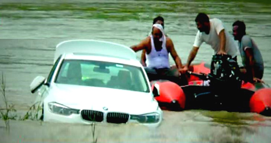 Haryana: Angry at not getting a Jaguar, boy pushes BMW into river