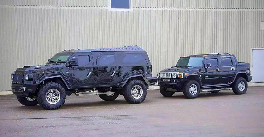 Biggest & BADDEST SUVs from around the world: Rezvani Tank X to Marauder