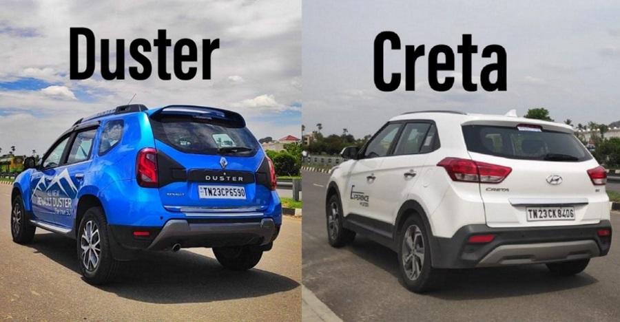 Renault Duster Facelift vs Hyundai Creta: 0-100 Kph acceleration and 100-0 Kph braking tests [Video]