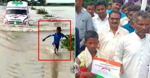 Flood Ambulance Boy Featured