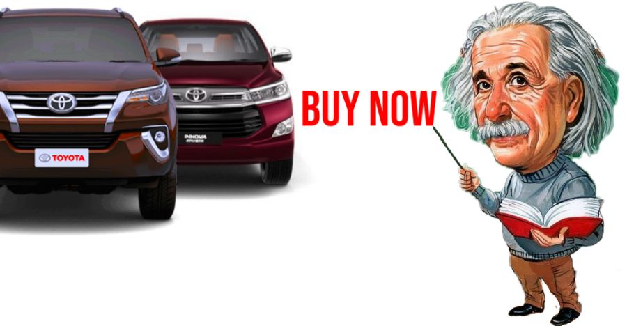 Buy the Toyota Innova Crysta/Fortuner NOW: Here's why