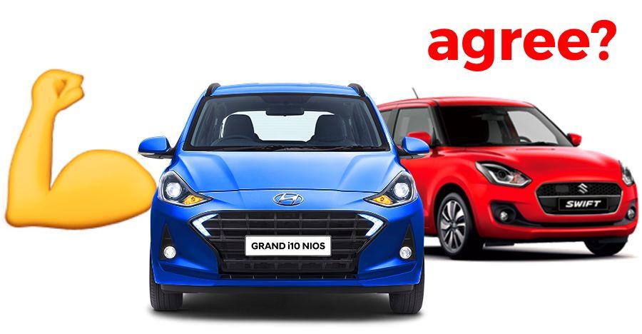 10 reasons Grand i10 NIOS is better than the Maruti Swift, according to Hyundai