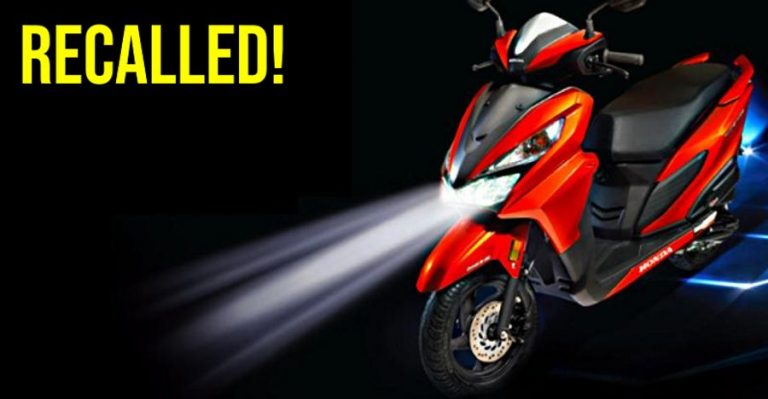 Honda Grazia Recall Featured
