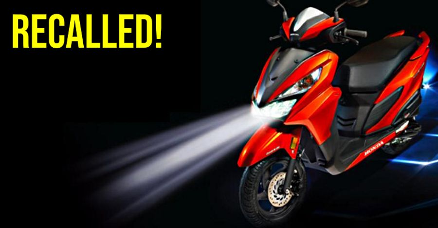 Honda Grazia Recall Featured