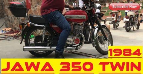 Jawa 350 Featured