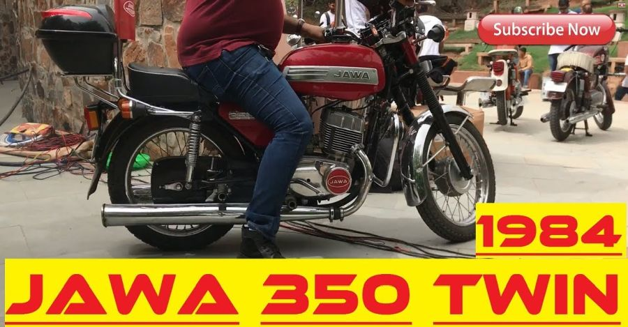 Jawa 350 Featured