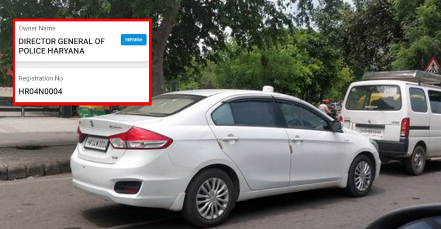 Haryana DGP car has tinted glass: BUSTED after Twitter compliant