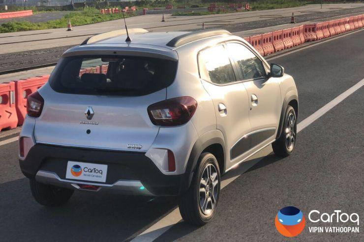 Renault Kwid Facelift Rear Render