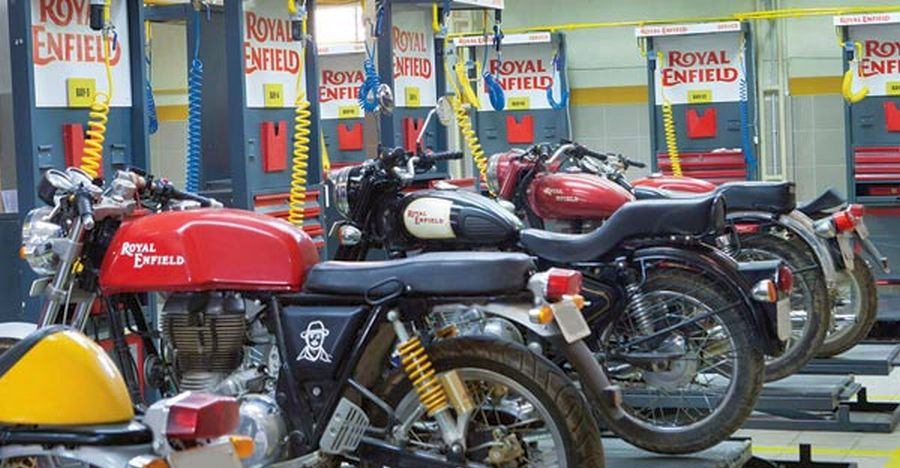 Royal Enfield Service Featured